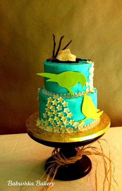 Kylie's Birdie Cake