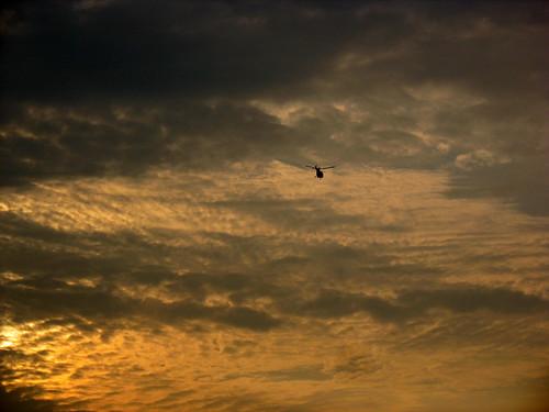 sunset sky india colors clouds evening chopper helicopter maharashtra alibag kokan mandwa