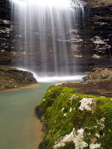 waterfall arkansas bridalveilfalls hebersprings