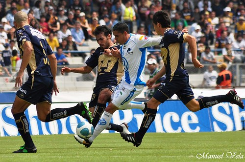 DSC_0568 Victoria de Pumas UNAM 4 -1 a Puebla FC por LAE Manuel Vela
