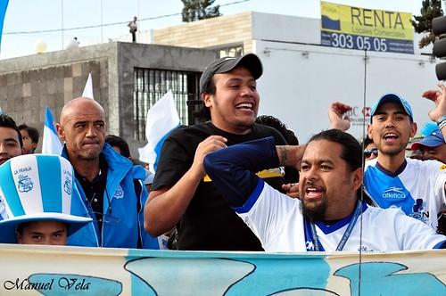 """DSC_0250 Chelis asistió al gran desfile en apoyo al Puebla FC """"Legión Dragón"""" por LAE Manuel Vela"""