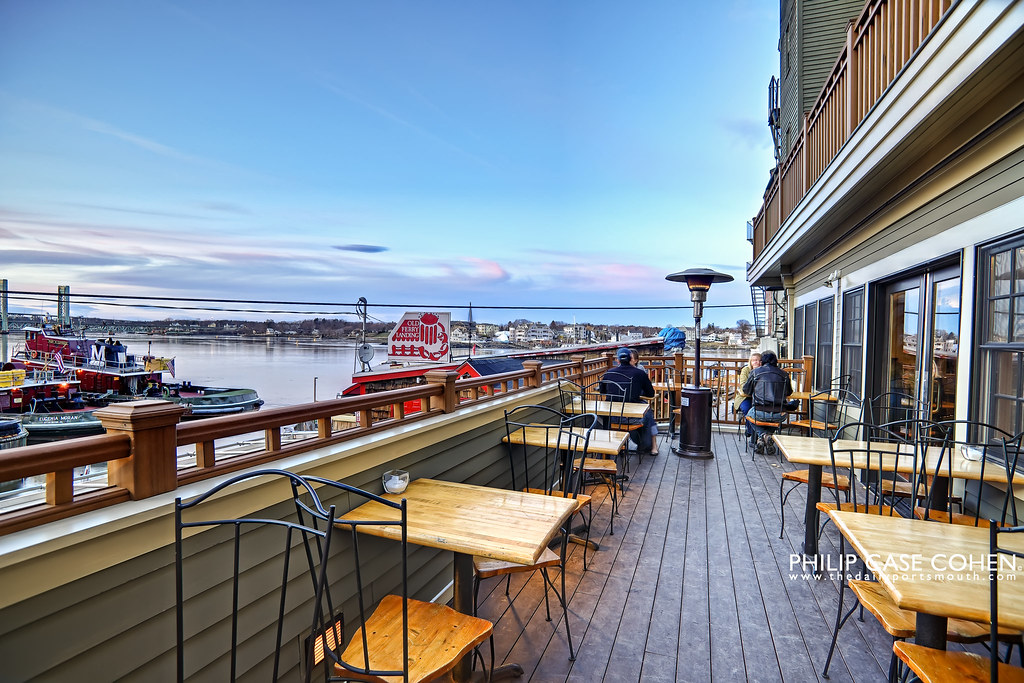 Upstairs at Poco's New Deck by Philip Case Cohen