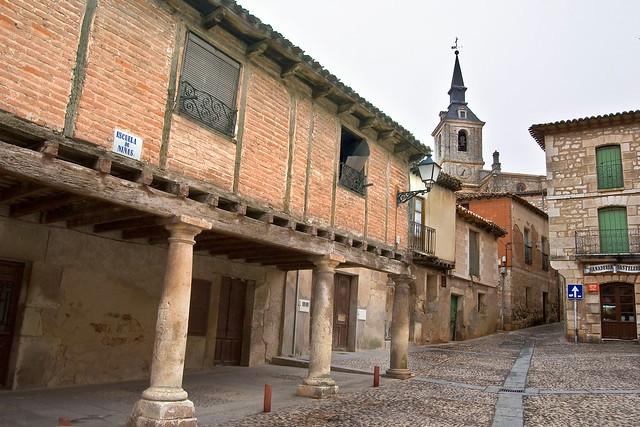 Antigua Plaza de la Villa de Lerma