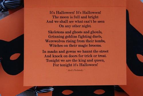 Craft:Along Halloween Cards inside