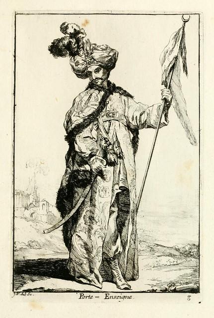 004-Porta-estandarte-Caravanne du sultan ala Mecque…1748- Joseph Vien