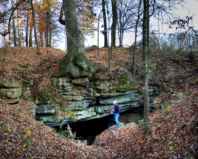 Unnamed Cave 12 Entrance, Kristen Bobo