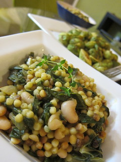 Fregola with chard and white beans | by wonderyort