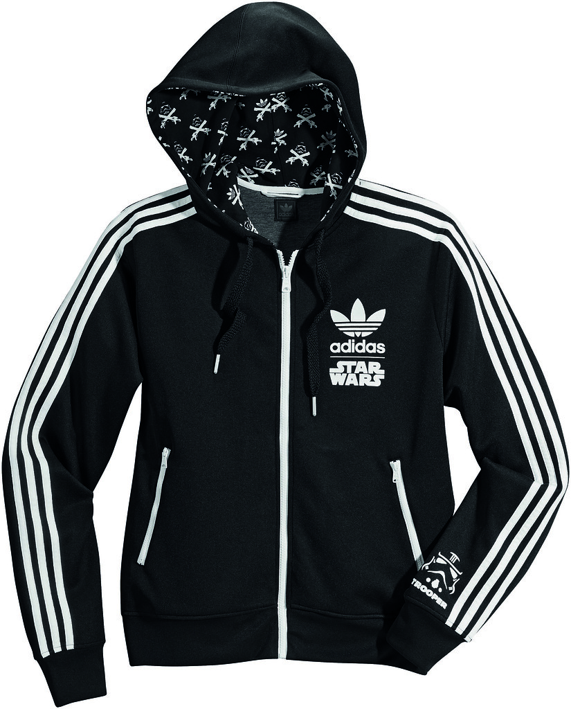 timeless design 29414 51a4d adidas x STAR WARS Stormtrooper Hooded Flock Track Top | Flickr