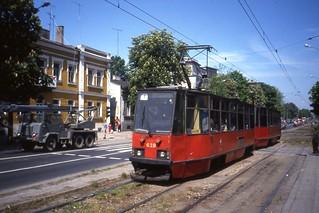 Częstochowa Tramwaj, Linia 1  Konstal car nr 639  may 1991