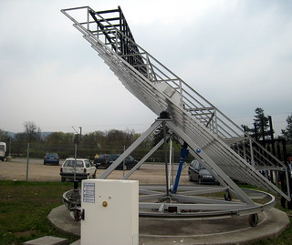 Solar tracker at Fraunhofer ISE | by steel & silicon