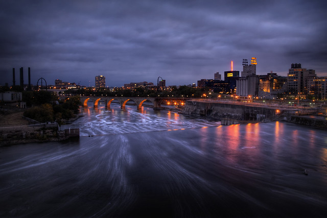 A Cold Minneapolis Evening