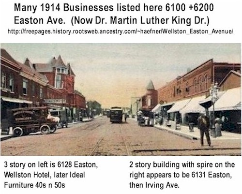 1910 Wellston, MO Postcard with copy Anheuser-Busch Waverley Electric Delivery Truck