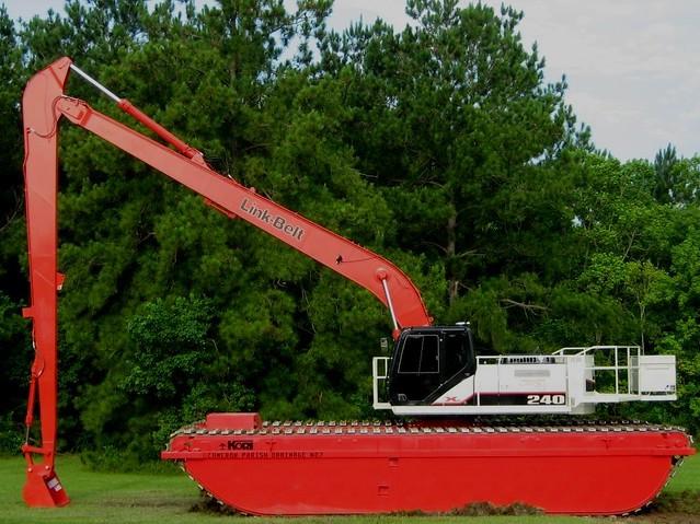 Link-Belt 240 X2 Swamp Buggy | Link Belt Marsh Buggy   thank