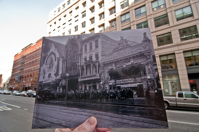 Looking Into the Past: Leader Theater, 9th Street, Washington, DC