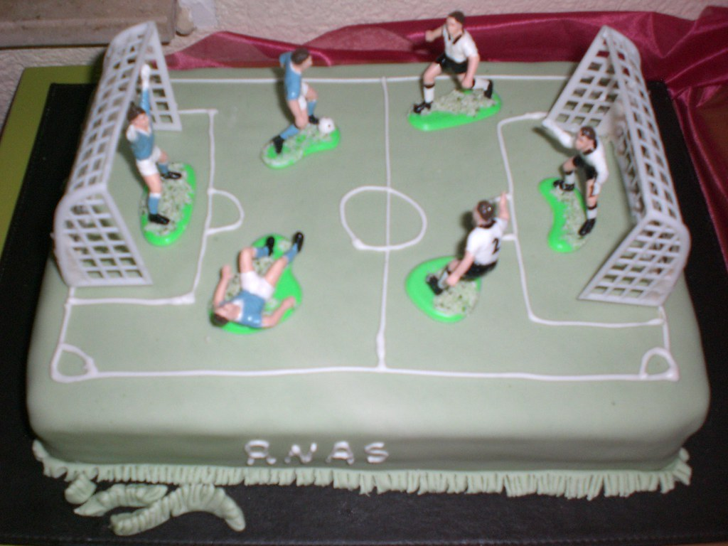 Fussball Torte Lauamy Flickr