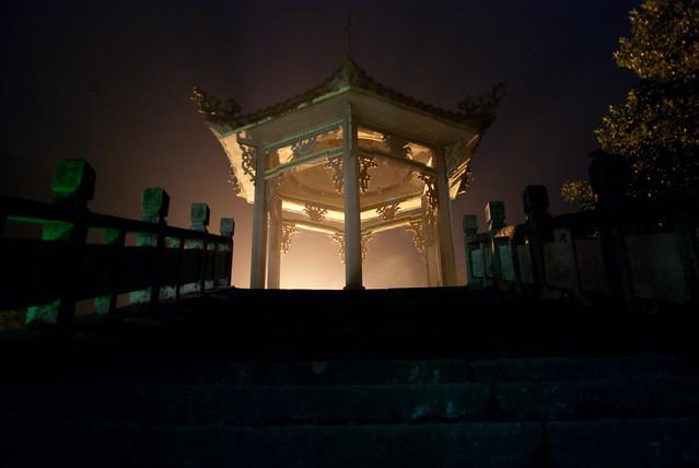 Yangshuo - Mysterious light