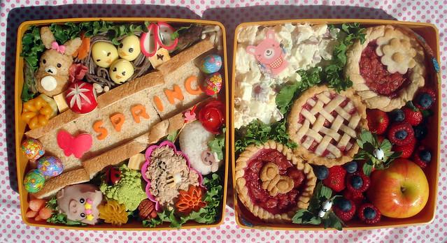 Spring Picnic Bento #46