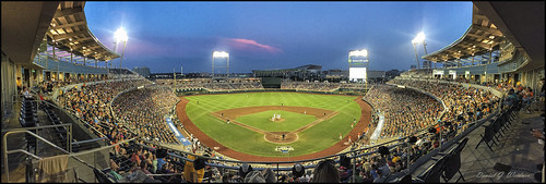 college sports skyline landscape nebraska baseball pano panoramic omaha nik nightphoto espn iphone s120 nikcolorefx