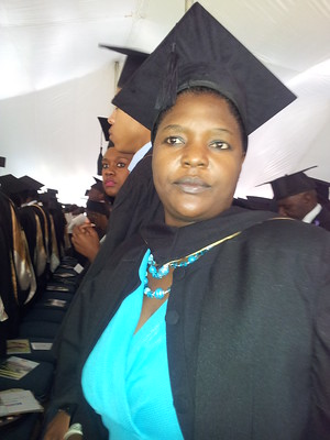 Priscah Muchemwa: Africa University Graduation on June 13, 2015