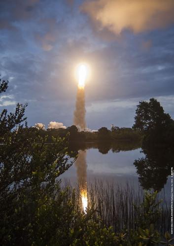 france weather european space agency ariane launch esa kourou eumetsat msg4