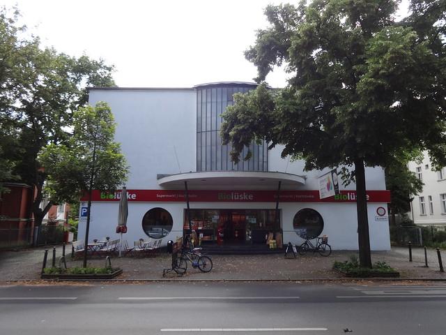 1950/51 Berlin-W. Kino Der Spiegel von Rudolf Grosse/Heinz Völker Drakestraße 50 in 12205 Lichterfelde