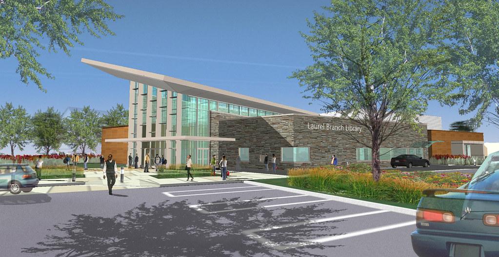 Laurel Library Construction