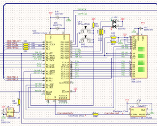 at898252 x8051 processor schematic | by clive boyd