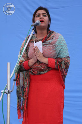 Devotional song by Lovely from Haridwar
