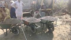 Construction underway of Rural Health Center in village Shewa Khyber Pakhtunkhwa Pakistan