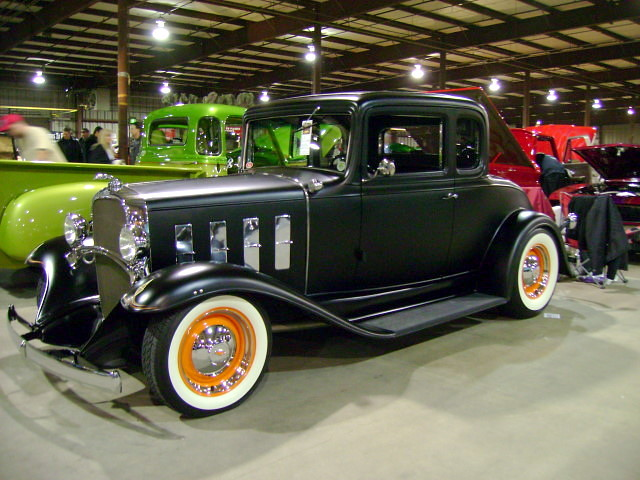 1932 Chevy 5-window Coupe | 20th Annual East Coast Indoor Na… | Flickr