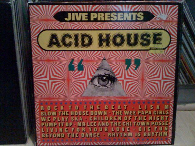 Jive Presents: Acid House 1989 | Ken Webb Birmingham, Alabam