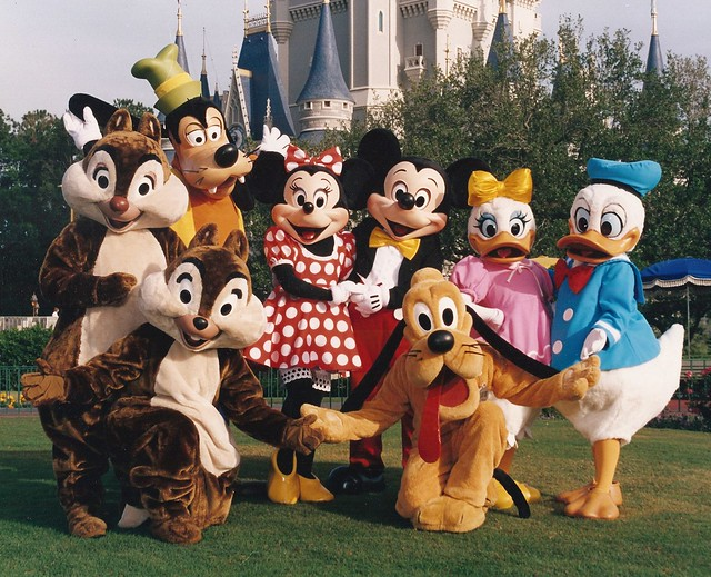Disney  Characters ~Chip & Dale, Goofy, Minnie, Mickey, Dasiy, Donald and Pluto