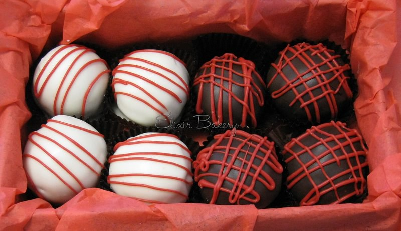 Valentines Day Cake Balls