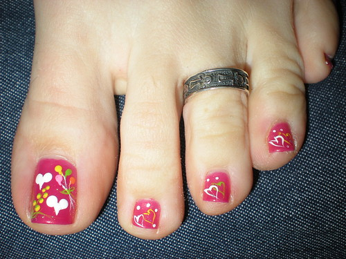 Valentine's Day Toes 2010 | by martha.harmon