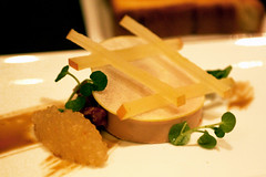 hudson valley moulard duck foie gras @ per se | by bionicgrrrl