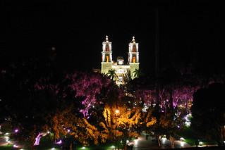 Zócalo De Noche Desde La Terraza Pedro Hernandez Flickr