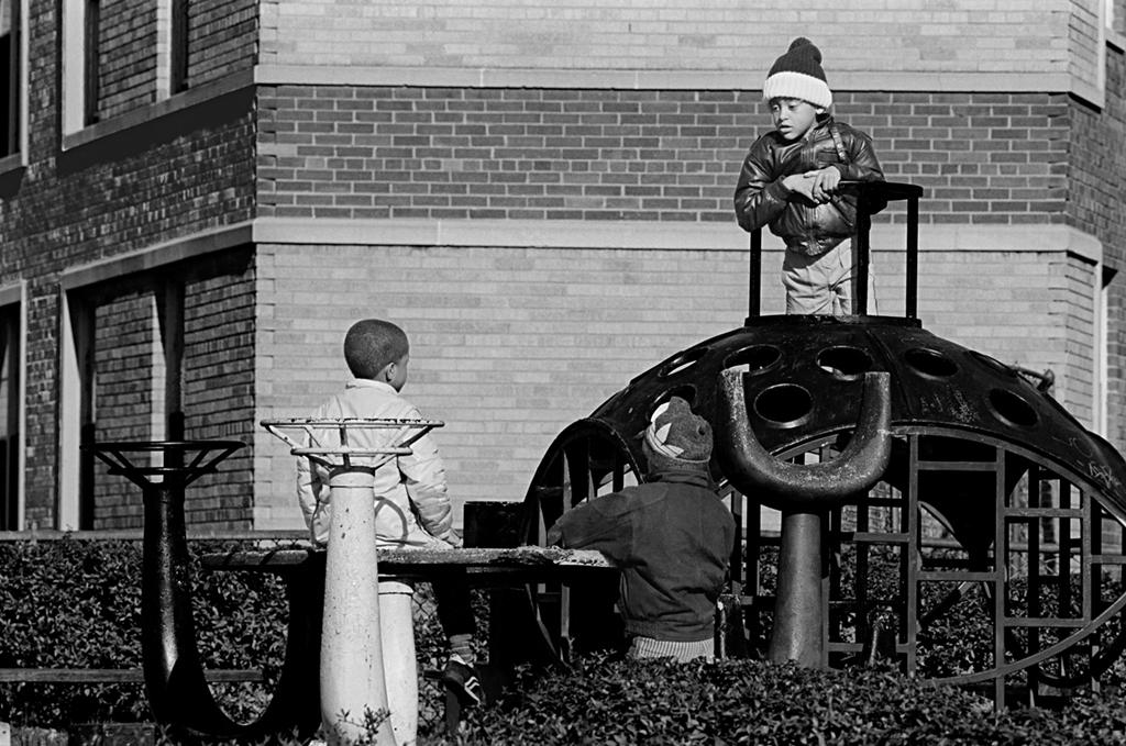 Three Boys In A Park, Washington, DC, # 2