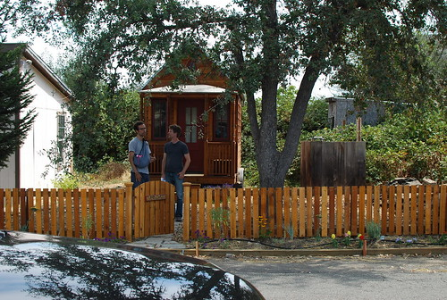 nicolás boullosa from *faircompanies (left) & jay shafer (right) from tumbleweed tiny house company | by nicolas.boullosa