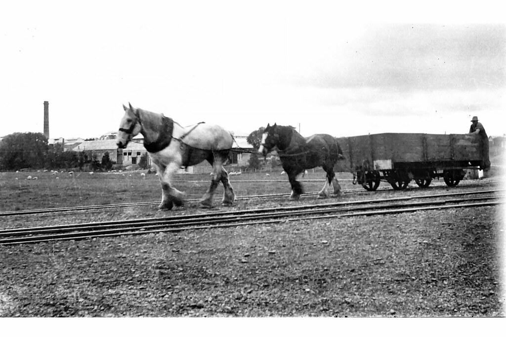 NZR Makarewa shunt 1920's style
