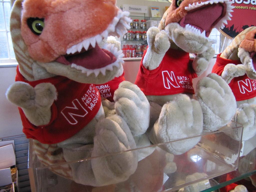 Natural History Museum shop merchandise