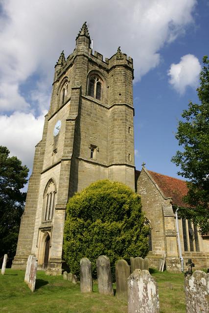 chiddingstone church - kent.