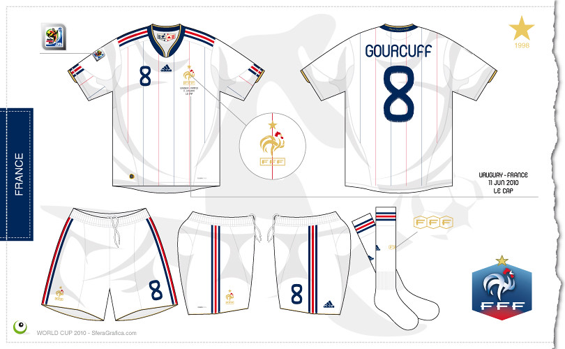best sneakers 61689 64ed1 France away kit World Cup 2010   Sergio Scala   Flickr