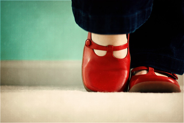 78/365 I <3 red shoes