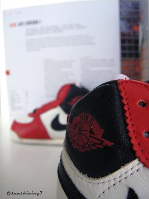 Sunshining7 Nike Air Jordan I (1) OG 1985 BABY Whi
