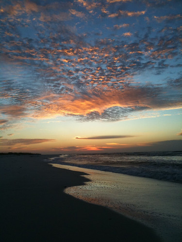 morning nature water sunrise florida pensacolabeach iphone fortpickens