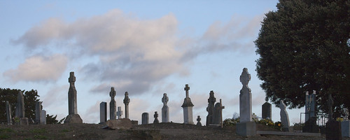 "Glasnevin Cemetery is the setting for the ""Hades"" episode in James Joyce's Ulysses. 