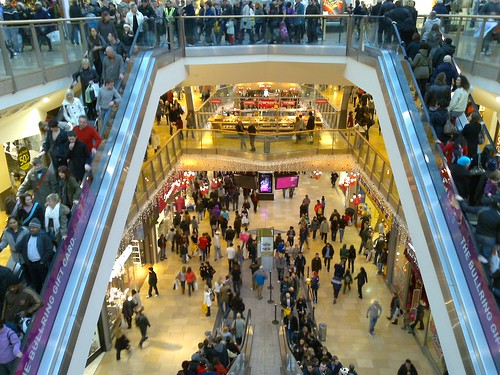 Christmas shoppers in the Bullring | by markhillary