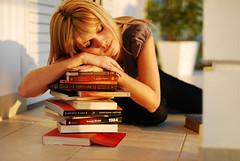 Sleeping over my books | by judacoregio