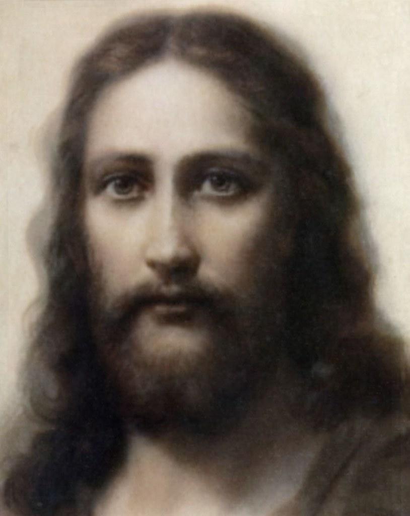 Shroud of jesus face