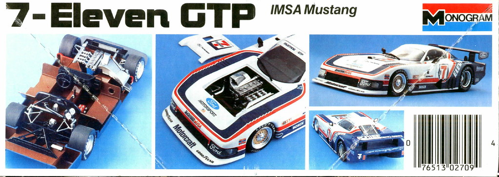 1985-86 IMSA 7-Eleven Ford Mustang GTP Kit   David Rider